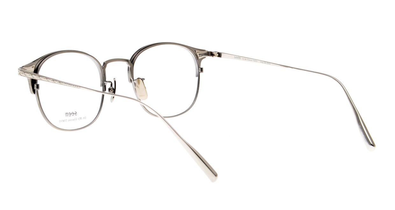 seem Oh My Glasses TOKYO Elena omg-100-21-20 [メタル/鯖江産/ウェリントン/シルバー]  3