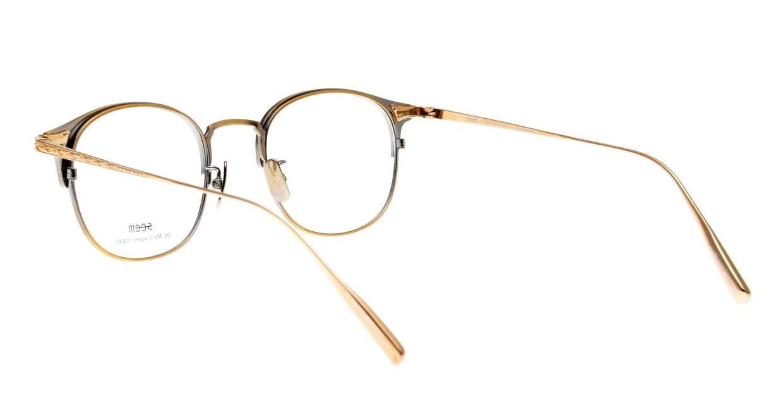 seem Oh My Glasses TOKYO Elena omg-100-12-10 [メタル/鯖江産/ウェリントン/ゴールド]  3