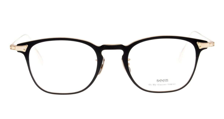 seem Oh My Glasses TOKYO Anne omg-101-1-14 [メタル/鯖江産/ウェリントン]