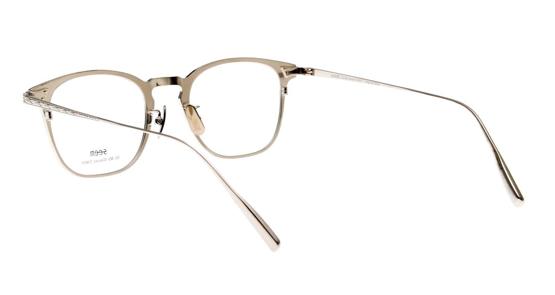 seem Oh My Glasses TOKYO Anne omg-101-51-20 [メタル/鯖江産/ウェリントン/青]  3