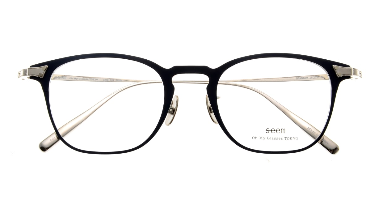 seem Oh My Glasses TOKYO Anne omg-101-51-20 [メタル/鯖江産/ウェリントン/青]  4