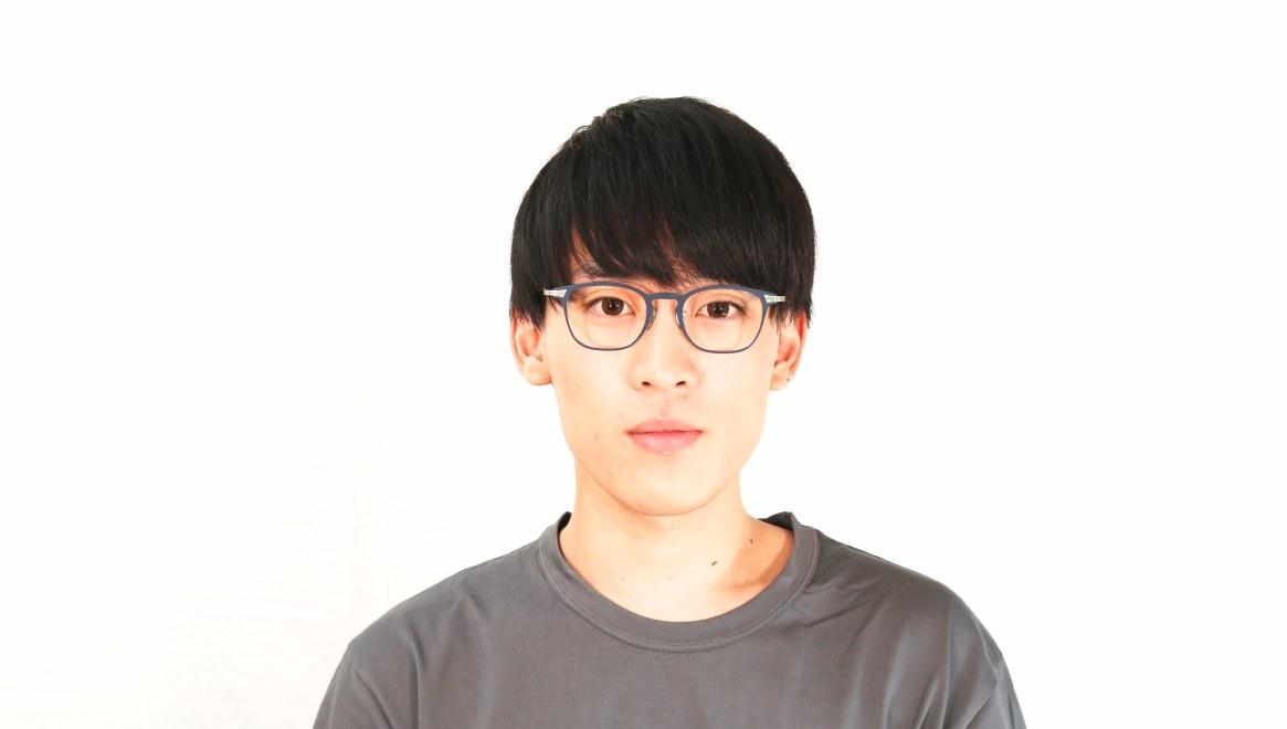 seem Oh My Glasses TOKYO Anne omg-101-51-20 [メタル/鯖江産/ウェリントン/青]  5