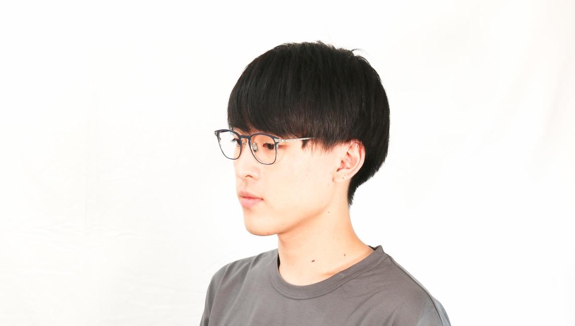 seem Oh My Glasses TOKYO Anne omg-101-51-20 [メタル/鯖江産/ウェリントン/青]  6