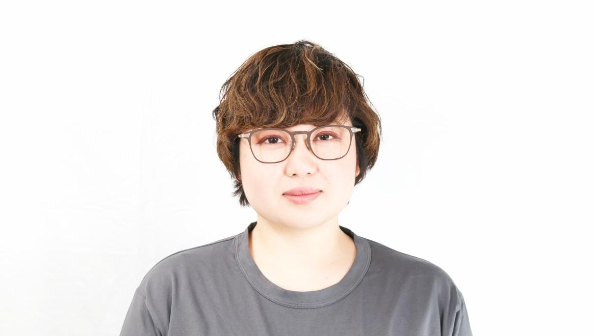seem Oh My Glasses TOKYO Anne omg-101-30-10 [メタル/鯖江産/ウェリントン/茶色]  7