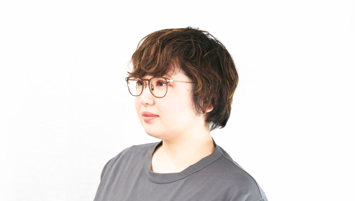 seem Oh My Glasses TOKYO Anne omg-101-30-10 [メタル/鯖江産/ウェリントン/茶色]  8