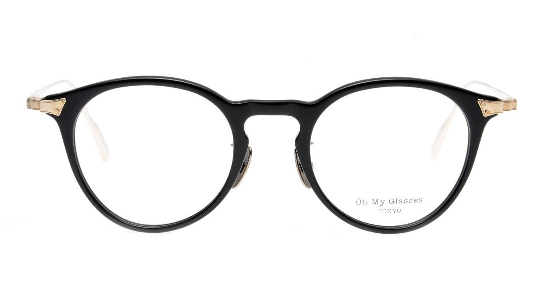 seem Oh My Glasses TOKYO Bill omg-102-2-14 [黒縁/鯖江産/丸メガネ]