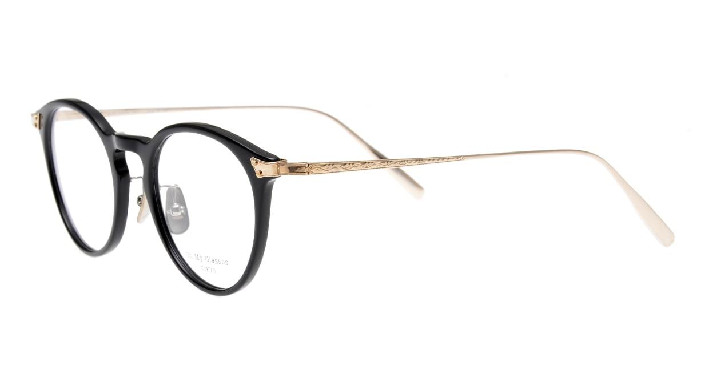 seem Oh My Glasses TOKYO Bill omg-102-2-14 [黒縁/鯖江産/丸メガネ]  1