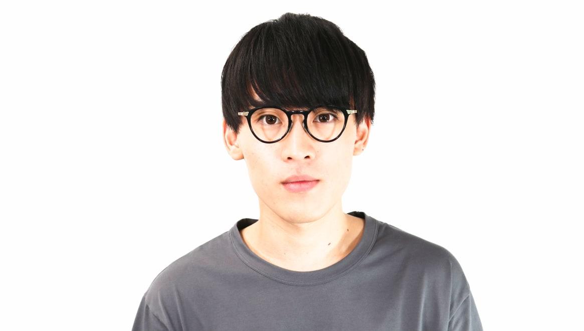seem Oh My Glasses TOKYO Bill omg-102-2-14 [黒縁/鯖江産/丸メガネ]  4