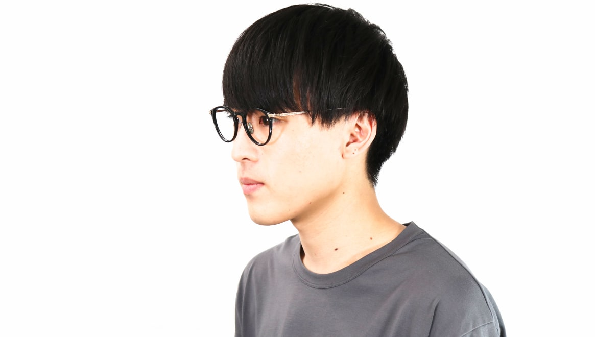 seem Oh My Glasses TOKYO Bill omg-102-2-14 [黒縁/鯖江産/丸メガネ]  5