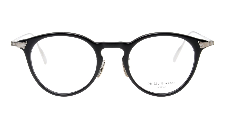seem Oh My Glasses TOKYO Bill omg-102-3-43 [黒縁/鯖江産/丸メガネ]