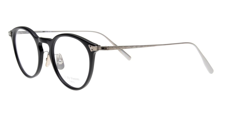 seem Oh My Glasses TOKYO Bill omg-102-3-43 [黒縁/鯖江産/丸メガネ]  1