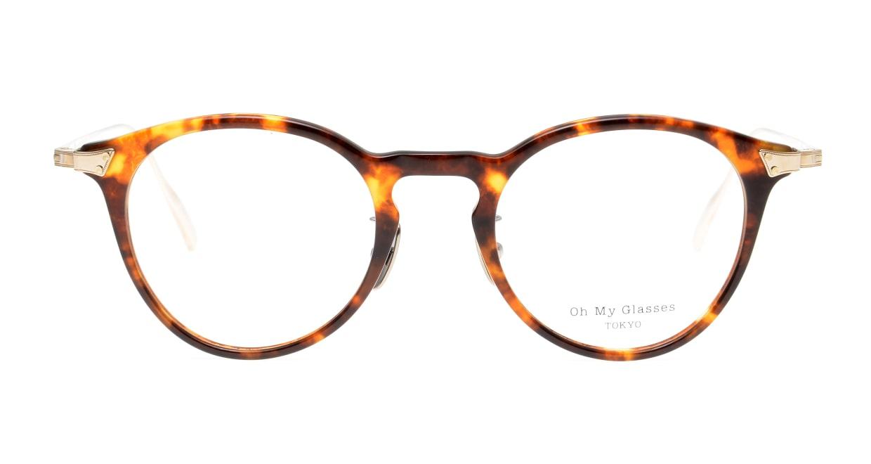 seem Oh My Glasses TOKYO Bill omg-102-13-14 [鯖江産/丸メガネ/べっ甲柄]