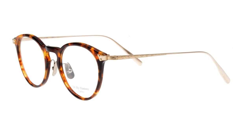 seem Oh My Glasses TOKYO Bill omg-102-13-14 [鯖江産/丸メガネ/べっ甲柄]  1