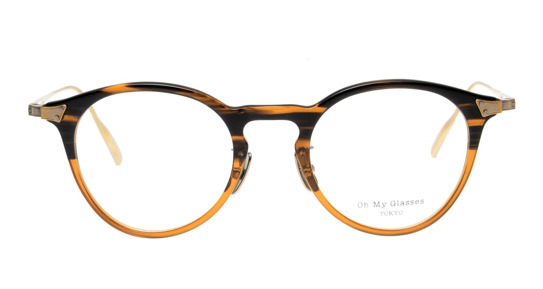 seem Oh My Glasses TOKYO Bill omg-102-21-12 [鯖江産/丸メガネ/茶色]