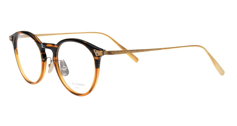 seem Oh My Glasses TOKYO Bill omg-102-21-12 [鯖江産/丸メガネ/茶色]  1