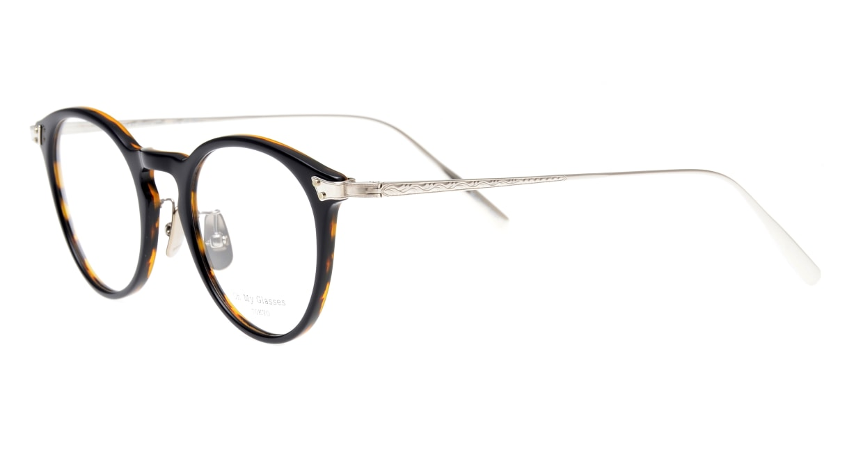 seem Oh My Glasses TOKYO Bill omg-102-40-20 [鯖江産/丸メガネ/青]  1