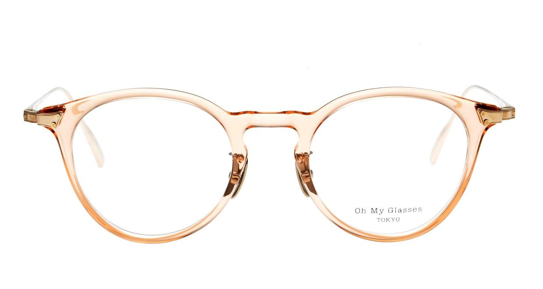 seem Oh My Glasses TOKYO Bill omg-102-29-14 [鯖江産/丸メガネ/透明]
