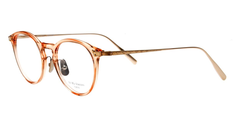 seem Oh My Glasses TOKYO Bill omg-102-29-14 [鯖江産/丸メガネ/透明]  1