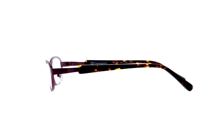 オニメガネ OG7007-DR-54 [メタル/鯖江産/スクエア/紫]  2