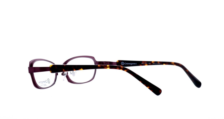 オニメガネ OG7007-DR-54 [メタル/鯖江産/スクエア/紫]  3