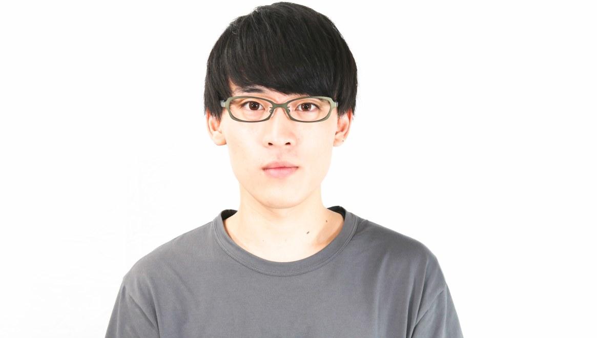 オニメガネ OG7007-GR-54 [メタル/鯖江産/スクエア/緑]  4