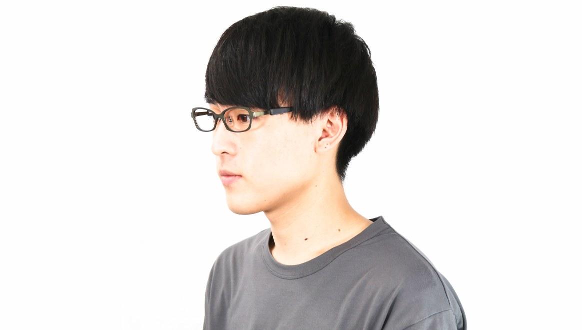 オニメガネ OG7007-GR-54 [メタル/鯖江産/スクエア/緑]  5