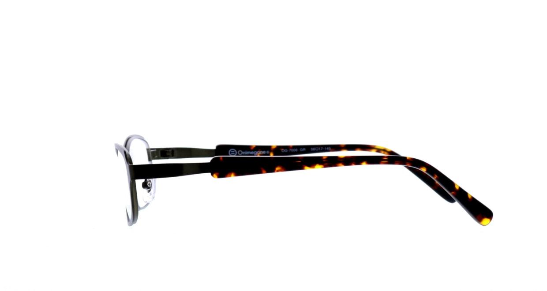 オニメガネ OG7008-GR-56 [メタル/鯖江産/オーバル/緑]  2