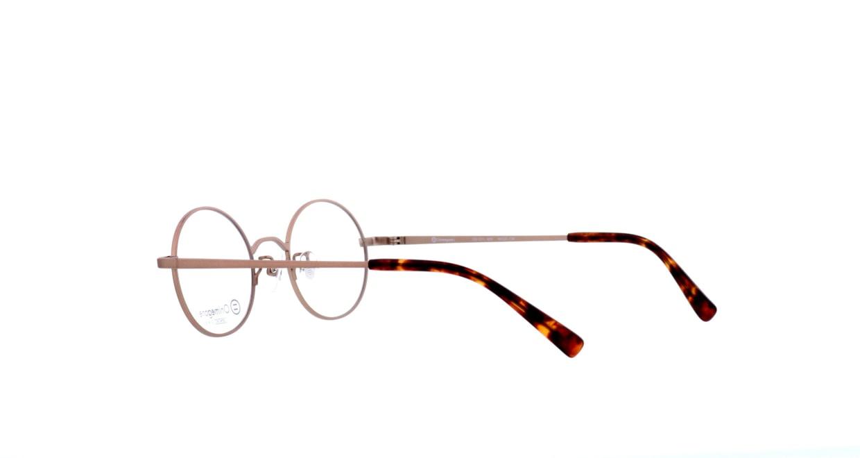 オニメガネ OG7211-ABR-46 [メタル/鯖江産/丸メガネ/茶色]  3
