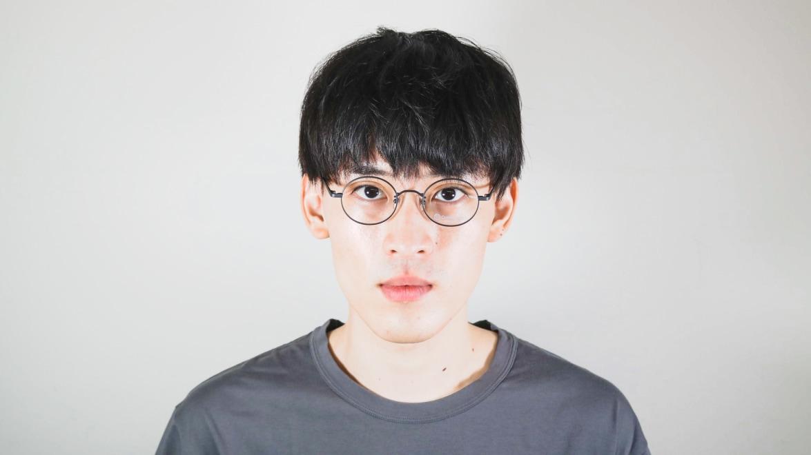 オニメガネ OG7211-DGY-46 [メタル/鯖江産/丸メガネ]  4