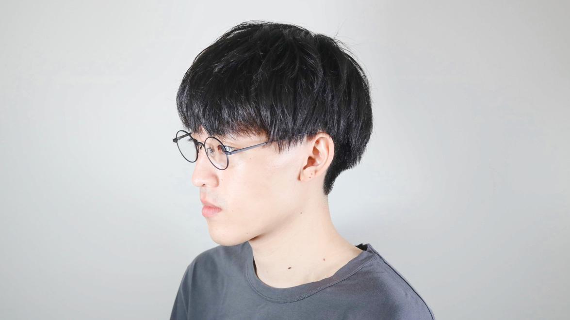 オニメガネ OG7211-DGY-46 [メタル/鯖江産/丸メガネ]  5