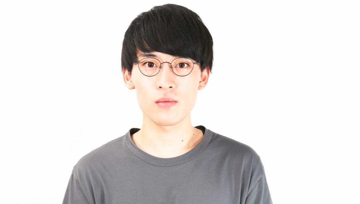 オニメガネ OG7213-DGY-46 [メタル/鯖江産/丸メガネ]  4