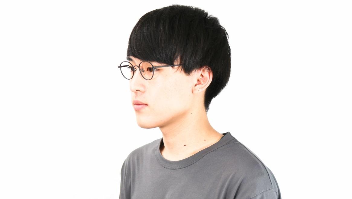 オニメガネ OG7213-DGY-46 [メタル/鯖江産/丸メガネ]  5