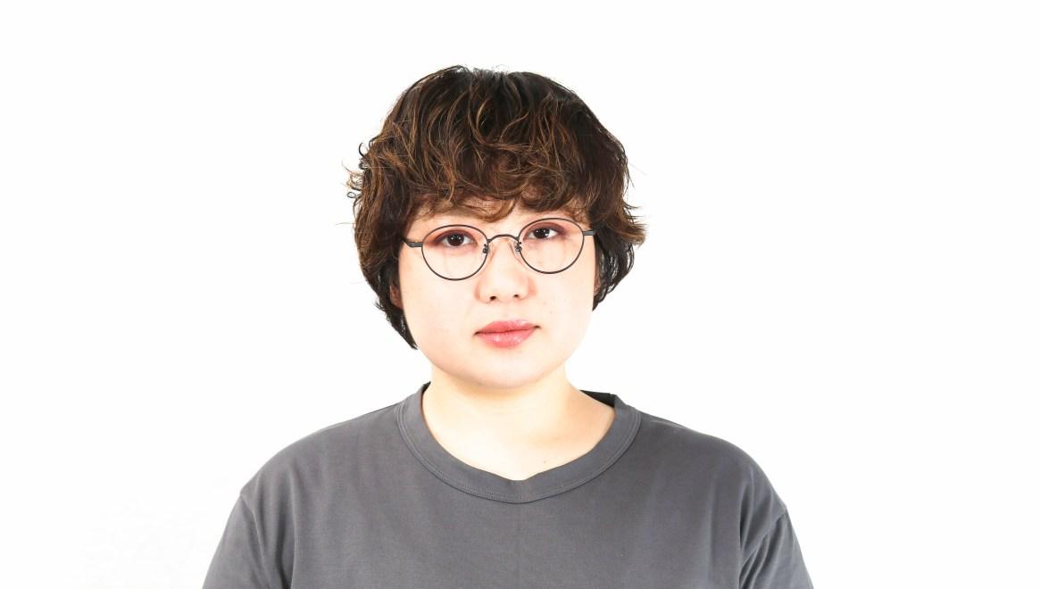 オニメガネ OG7213-DGY-46 [メタル/鯖江産/丸メガネ]  6