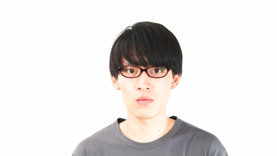 オニメガネ OG7812-R-53 [鯖江産/オーバル/赤]  4