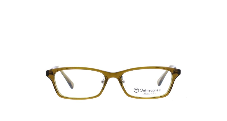 オニメガネ OG7814-OL-52 [鯖江産/スクエア/緑]
