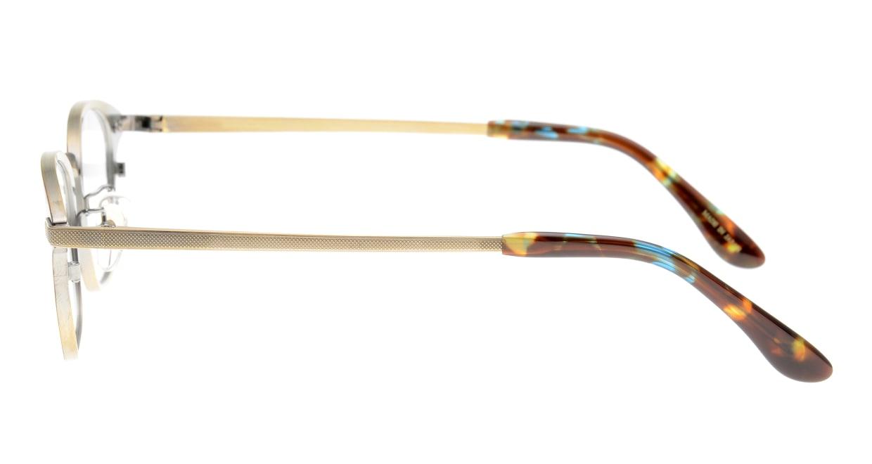 ハンドメイドアイテム H-3038-C5-49 [メタル/鯖江産/スクエア/べっ甲柄]  2
