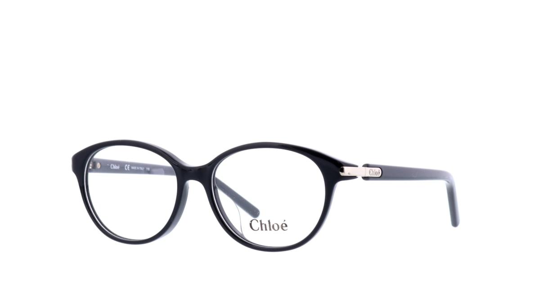 クロエ CE2682A-001 [黒縁/丸メガネ]  1
