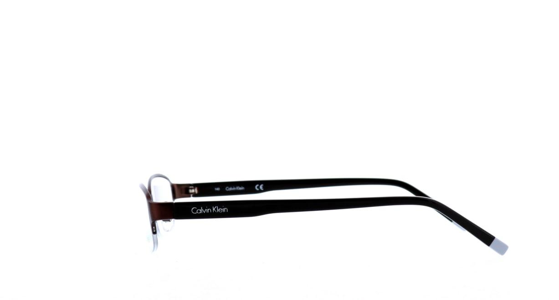 カルバンクライン cK5466A-200 [メタル/ハーフリム/スクエア/茶色]  2
