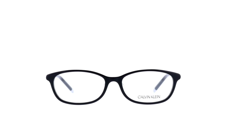 カルバンクライン cK6003A-001 [黒縁/オーバル]