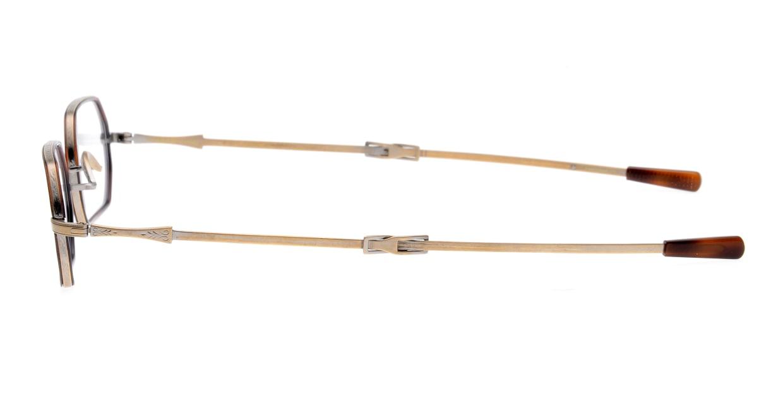 オリバーピープルズ PLATT-W-AG-45 [メタル/鯖江産/スクエア/べっ甲柄]  2