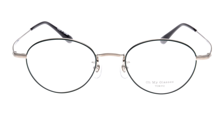 Oh My Glasses TOKYO George omg-063-52-44 [メタル/鯖江産/丸メガネ/緑]