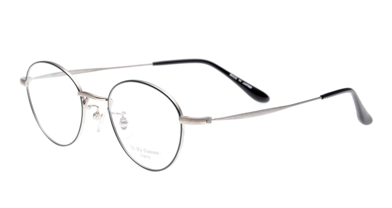 Oh My Glasses TOKYO George omg-063-52-44 [メタル/鯖江産/丸メガネ/緑]  1