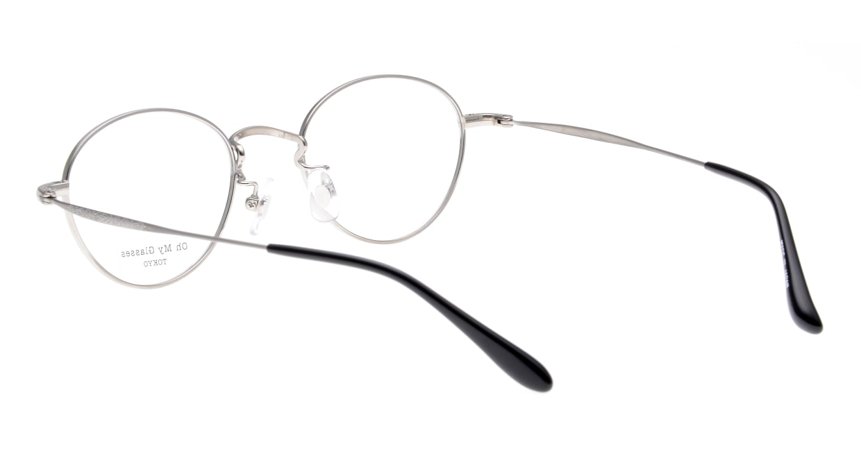 Oh My Glasses TOKYO George omg-063-53-44 [メタル/鯖江産/丸メガネ/黄色]  3