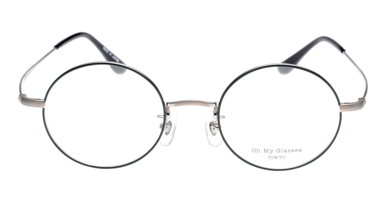 Oh My Glasses TOKYO Neal omg-067-52-44 [メタル/鯖江産/丸メガネ/緑]