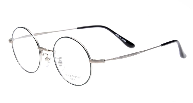 Oh My Glasses TOKYO Neal omg-067-52-44 [メタル/鯖江産/丸メガネ/緑]  1