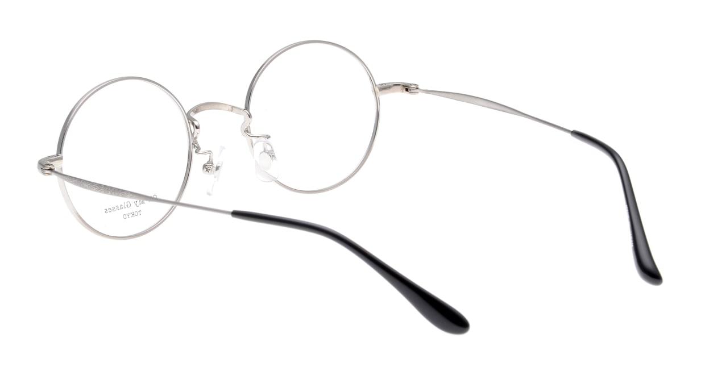 Oh My Glasses TOKYO Neal omg-067-52-44 [メタル/鯖江産/丸メガネ/緑]  3