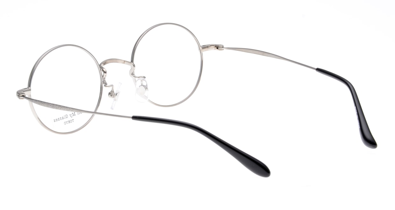 Oh My Glasses TOKYO Neal omg-067-53-44 [メタル/鯖江産/丸メガネ/黄色]  3