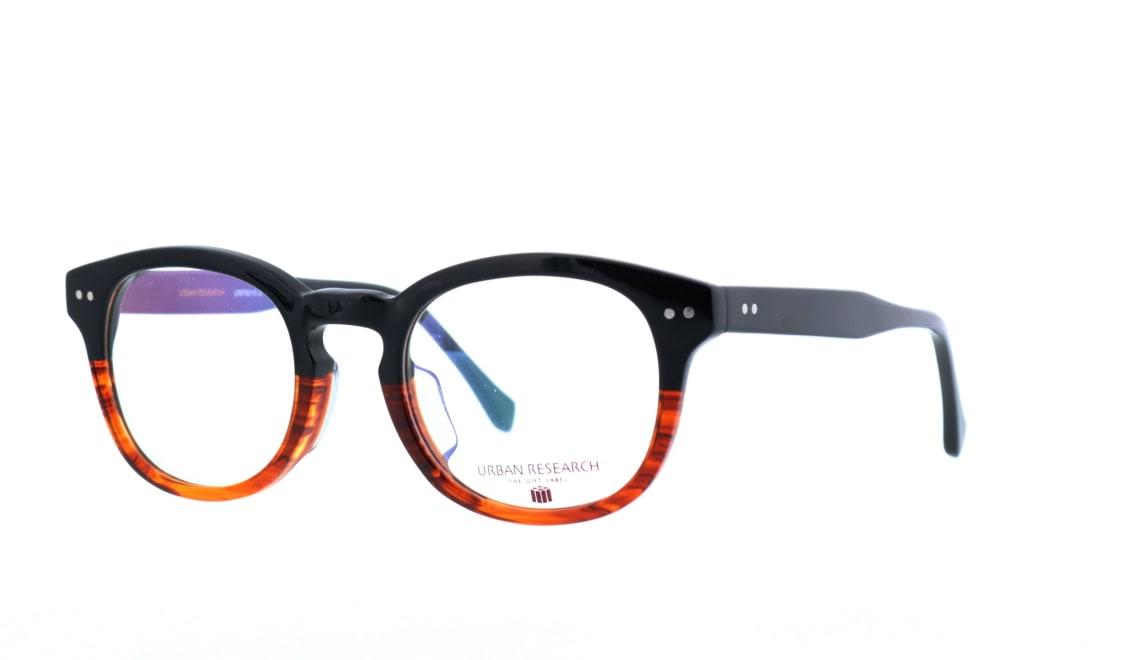 アーバンリサーチギフトレーベル URF-8010-3 [黒縁/丸メガネ]  1