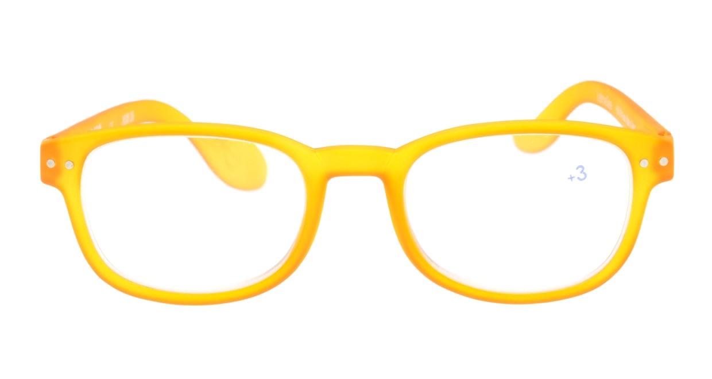 イジピジ +3.0#B Reading-Yellow [ウェリントン/黄色]