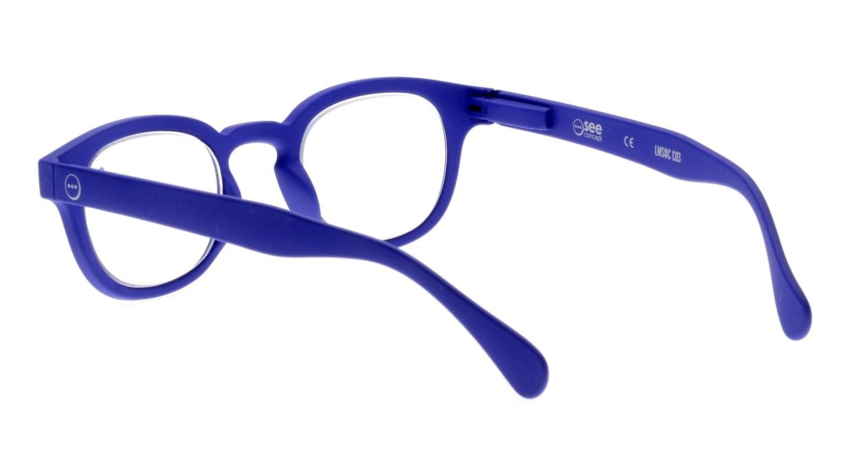 イジピジ(IZIPIZI) イジピジ +3.0#C Reading-Navy Blue